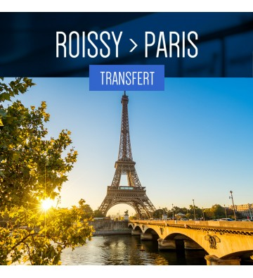 TRANSFER FROM ROISSY TO PARIS