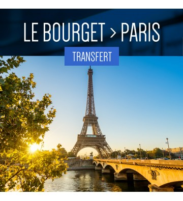 TRANSFER FROM LE BOURGET TO PARIS