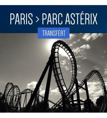TRANSFERT DE PARIS AU PARC ASTÉRIX