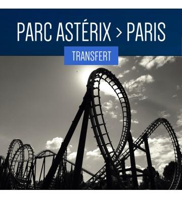 TRANSFERT DU PARC ASTÉRIX À PARIS